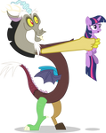 Discord Collects a Pony