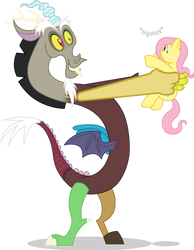 Discord Purchases Fluttershy by mattyhex