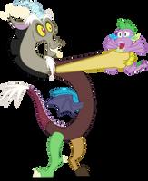 Discord Catches Spike by mattyhex