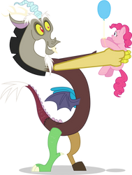 Discord Collects Pinkie by mattyhex