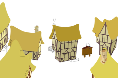 Buildings WIP 3 by mattyhex