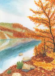 Autumn Leaves by mattyhex