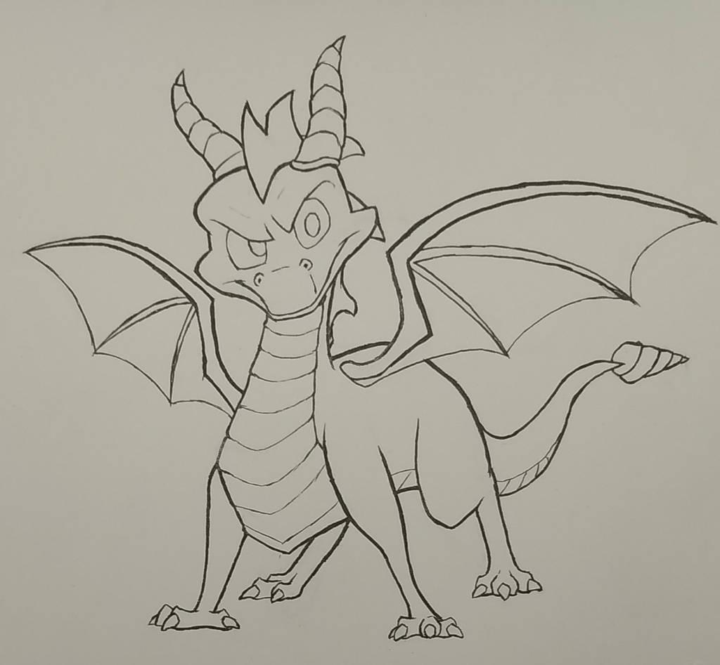 Spyro Ink by mattyhex