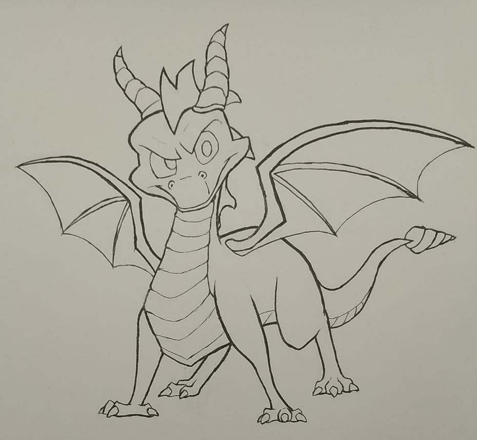 Spyro Ink by mattyhex