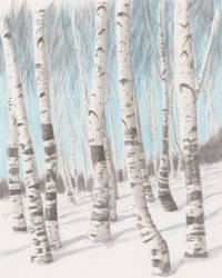 Trees by mattyhex