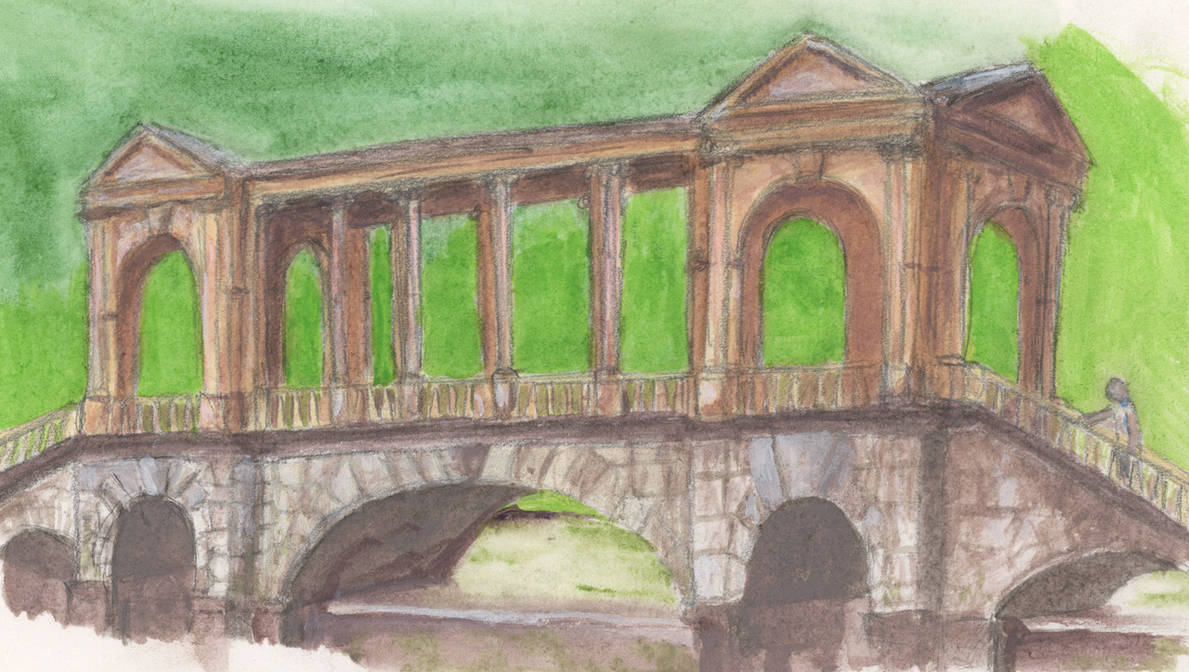 Palladian Bridge by mattyhex
