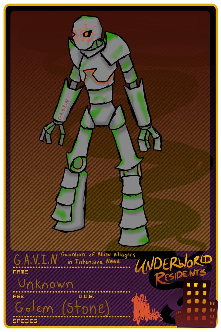 UR Application: G.A.V.I.N by Koragg1