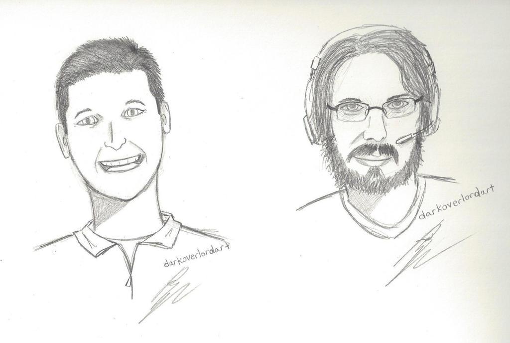 Caleb and Matt by Koragg1