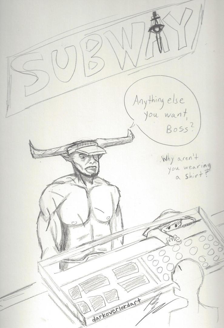 Subway: Eat-- Cole no by Koragg1