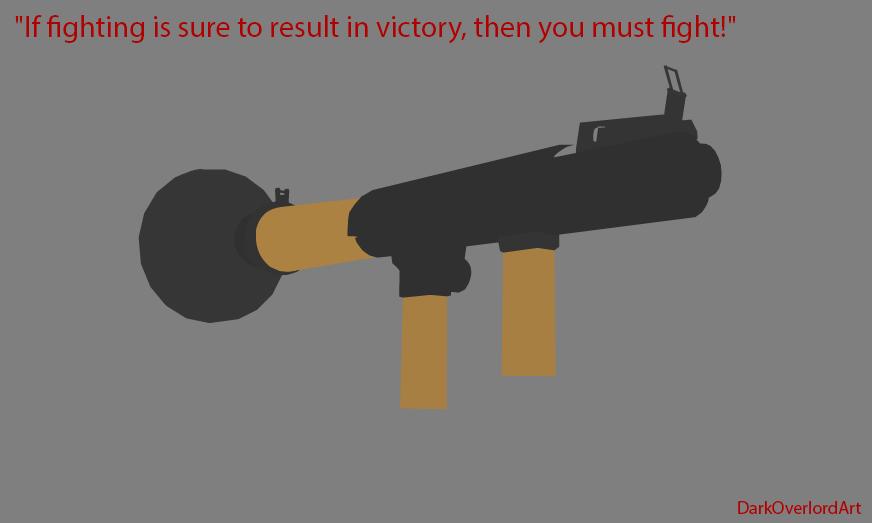 Vector Soldier's rocket launcher by Koragg1