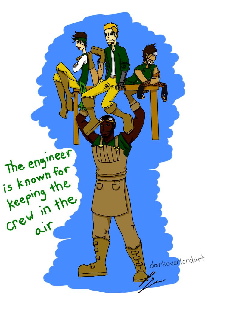 An engineer's job by Koragg1