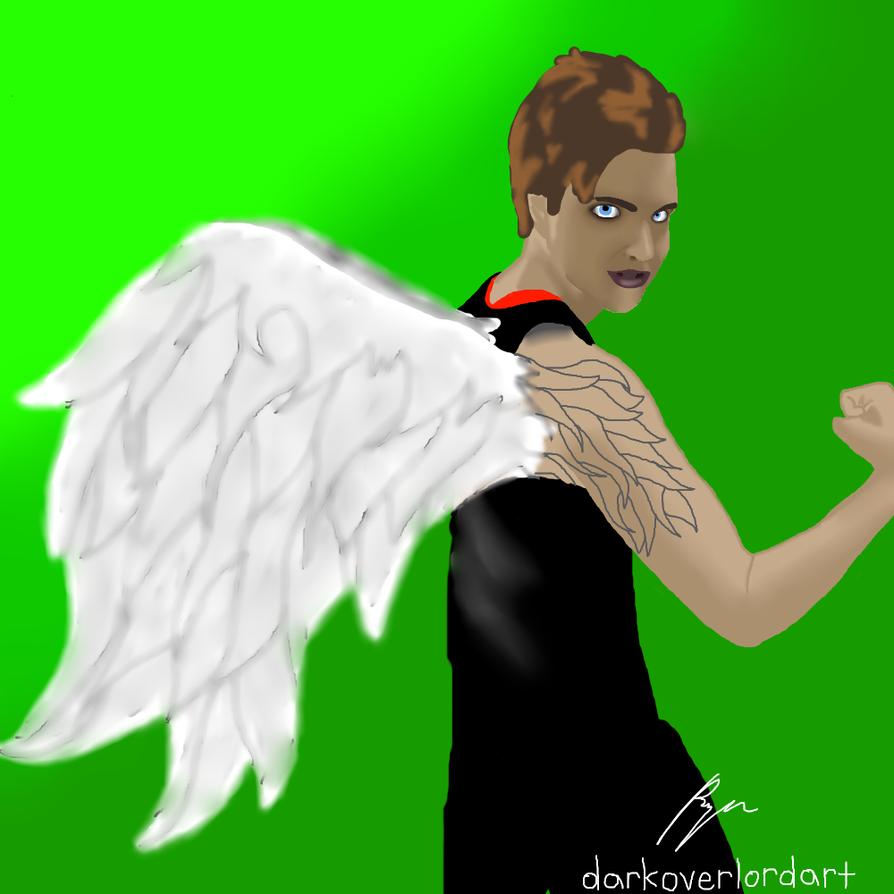 Winged Eryn by Koragg1