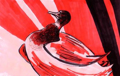 Propaganduck by wee-axolotl