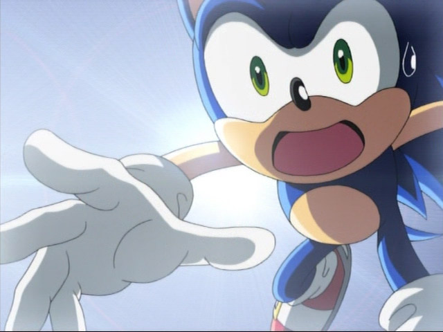 Sonic X Ep 1 By Gladosheroes2000 On Deviantart