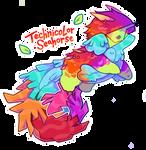 Technicolor Seahorse