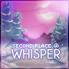 Whisper Icon 2nd Place by Jagveress