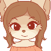 [OC] - Pixel Headshot - Rosie by JiggyJaggy