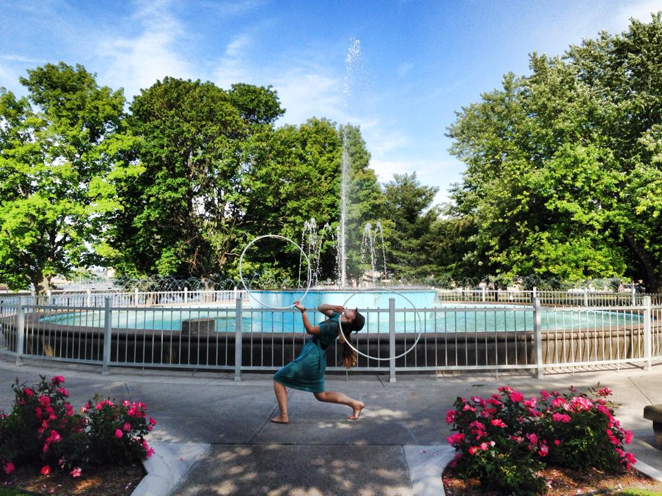 Hula Hoop Doubles in the Soo by drsCompanion