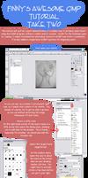 GIMP Lineart Tutorial 2