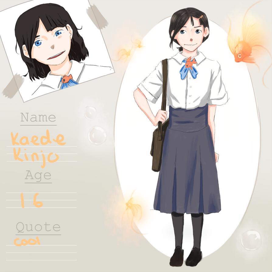 :KINGYO APP: Kaede Kinjo by Kazuko15