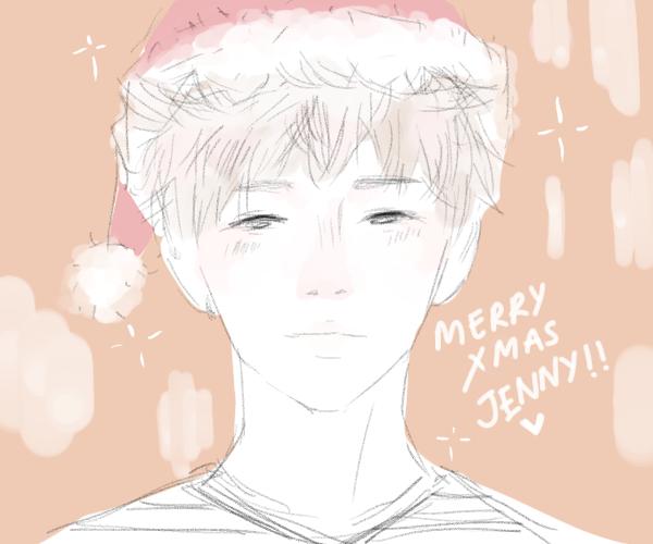 merry Xmas jen by Kazuko15
