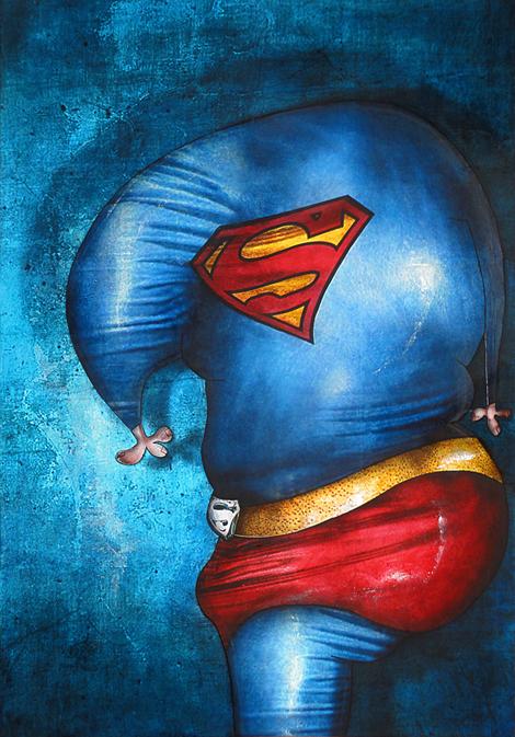 Superman by jeremiebaldocchi