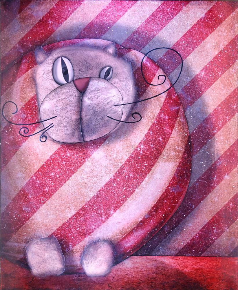 Packaged cat by jeremiebaldocchi
