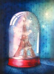 Paris under glass by jeremiebaldocchi
