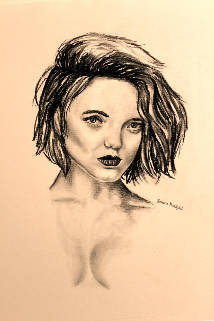 Female Sketch by Shadowhunter97