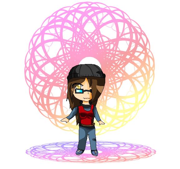 Me in Pixels :3 by DarkTheAngelHedgehog
