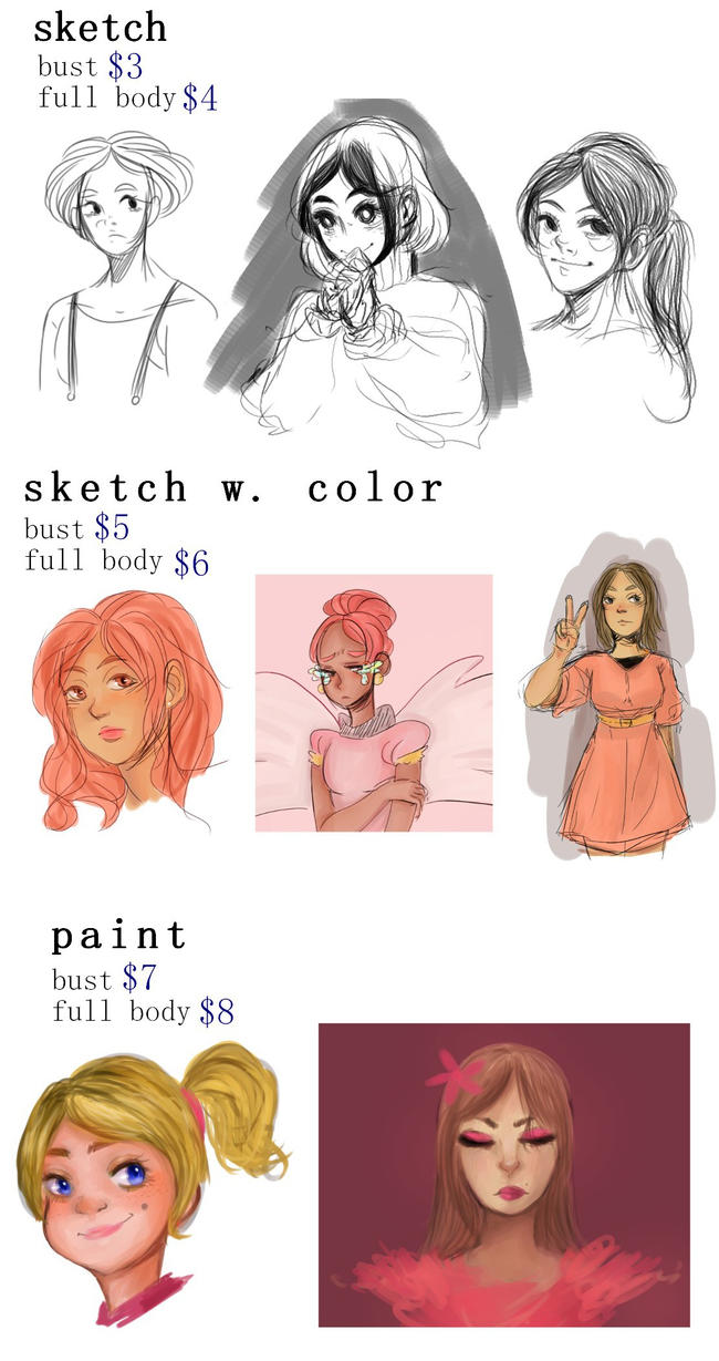COMMISSIONS by Ssu-Chan