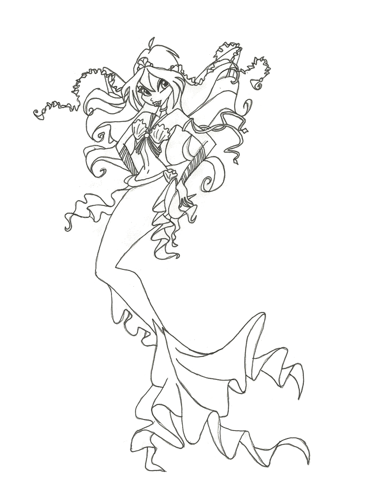 Winx Club Mermaid Bloom coloring page by winxmagic237 on DeviantArt