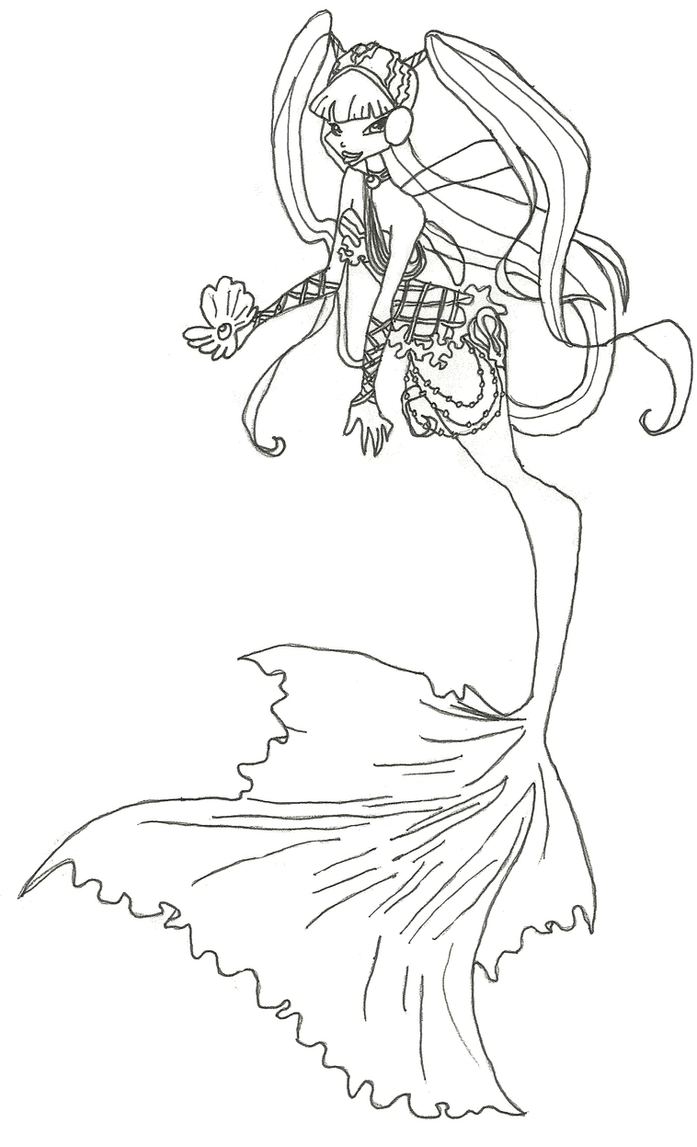 winx club mermaid musa coloring page by winxmagic237 on deviantart