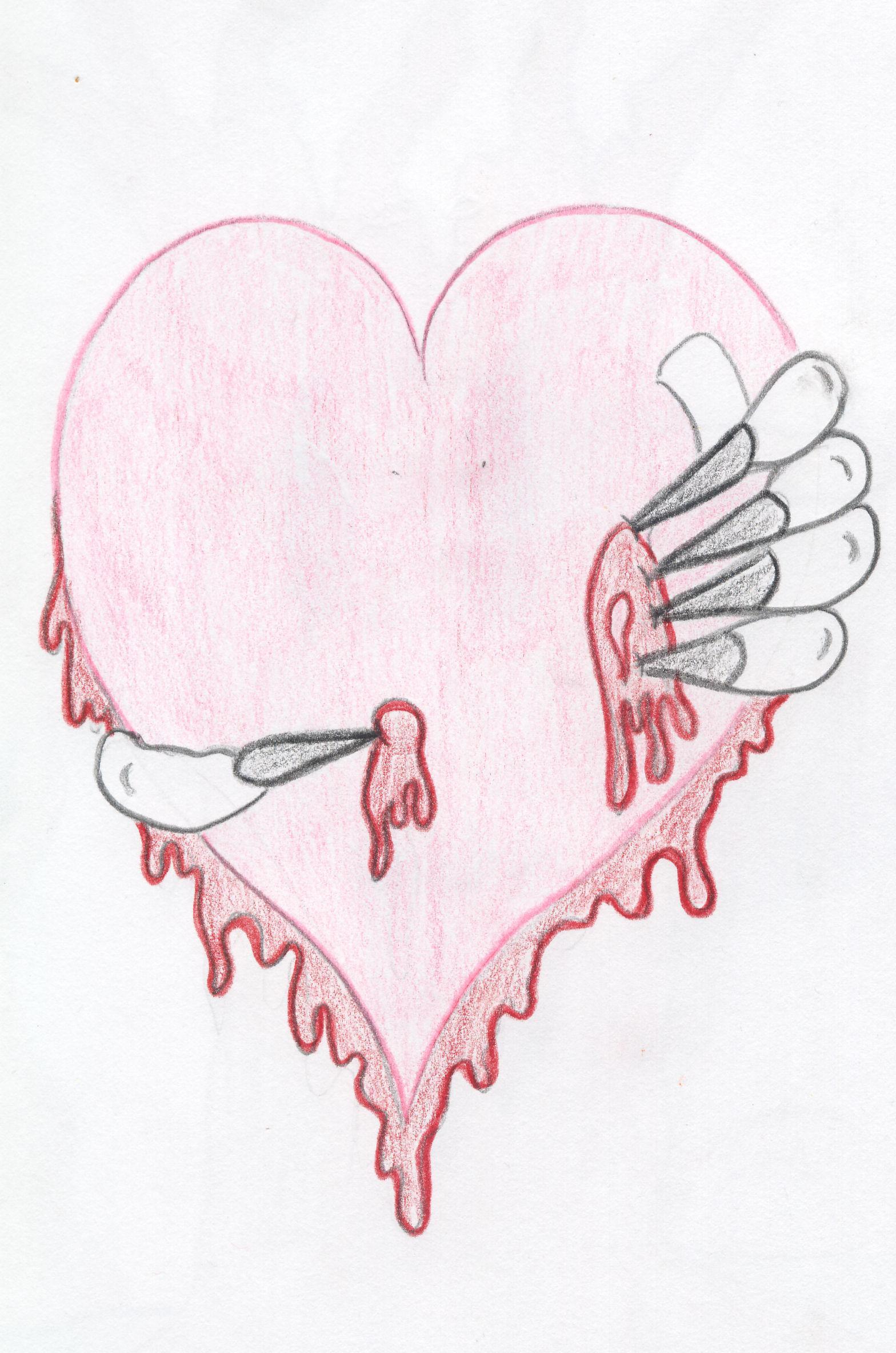 Bleeding Heart Sketch Bleeding Heart by