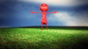Happy Little Red Dude