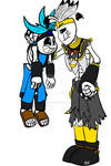 Tribal Sans and Gaster