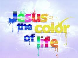 Jesus Color by mostpato