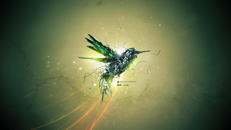 Desktopography 2011 Flight