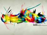 Jesus love+life - Wallpaper