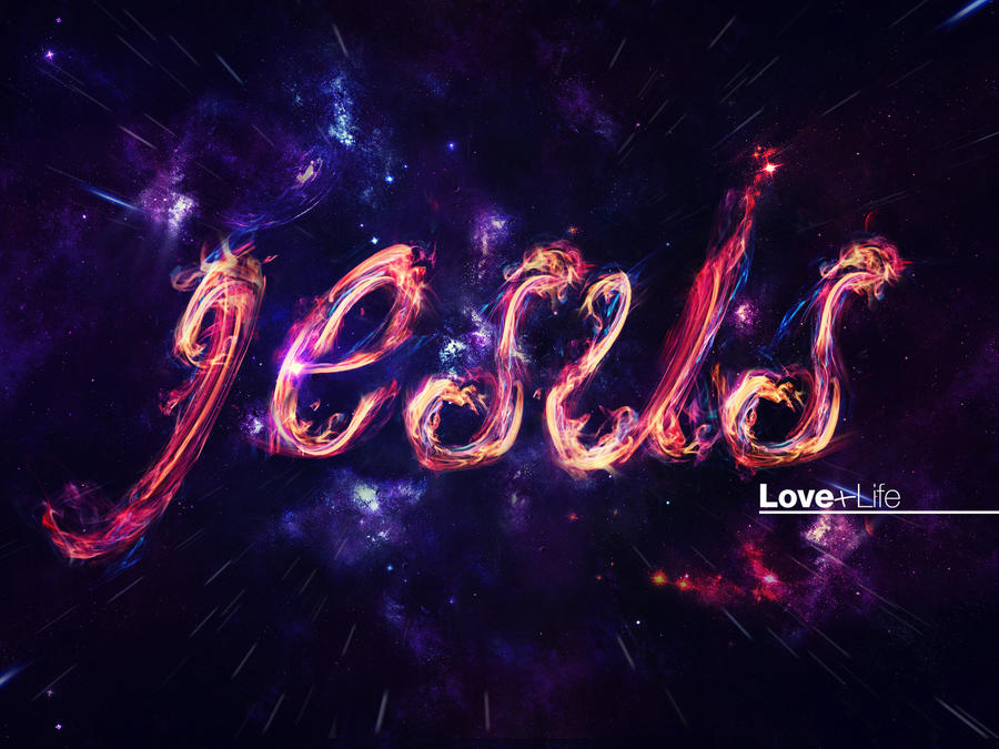 Hd Wallpaper Of Love Is Life : Jesus love+life 4 - Wallpaper by mostpato on DeviantArt
