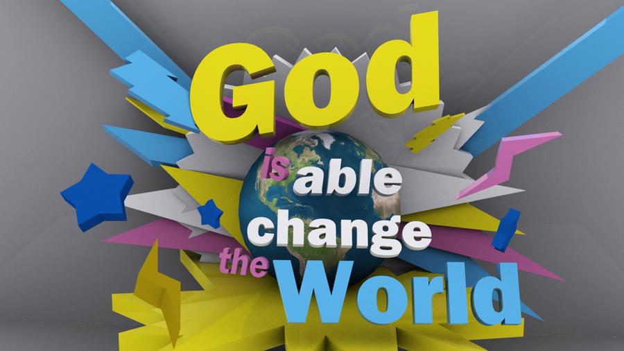 God be able - Wallpaper by mostpato