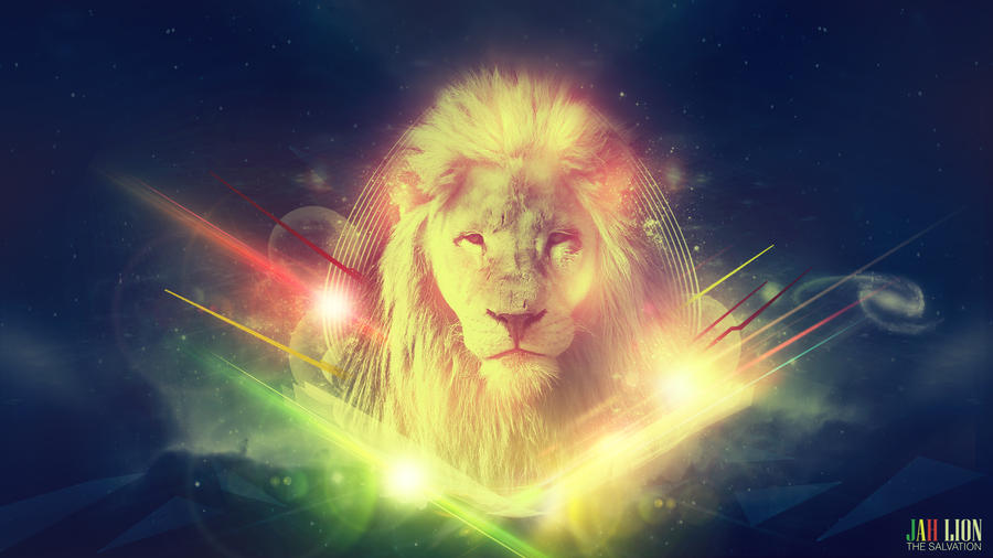 Jah Lion - Wallpaper by mostpato on deviantART