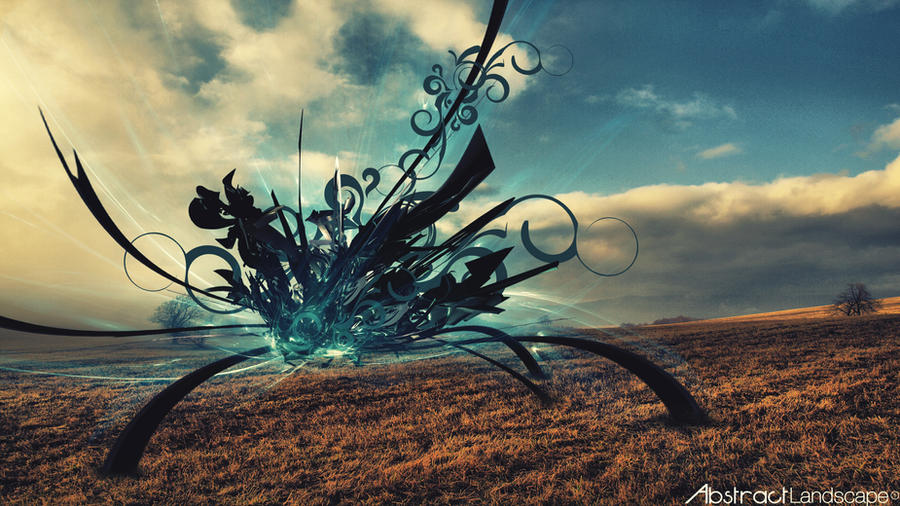 landscape abstract wallpaper and background