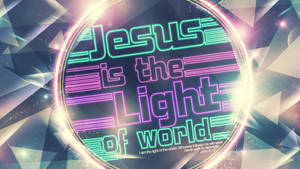 Jesus Light World - wallpaper by mostpato