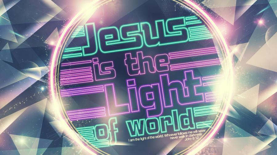 Jesus Light World - wallpaper by mostpato