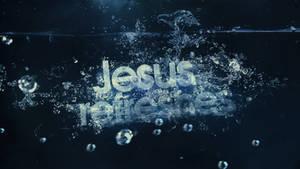 Jesus Refreshes - Wallpaper