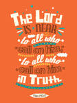Psalm 145:18 - Poster