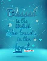 Jeremiah 17:7 - Poster by mostpato