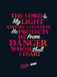 Psalm 27:1 - Poster by mostpato
