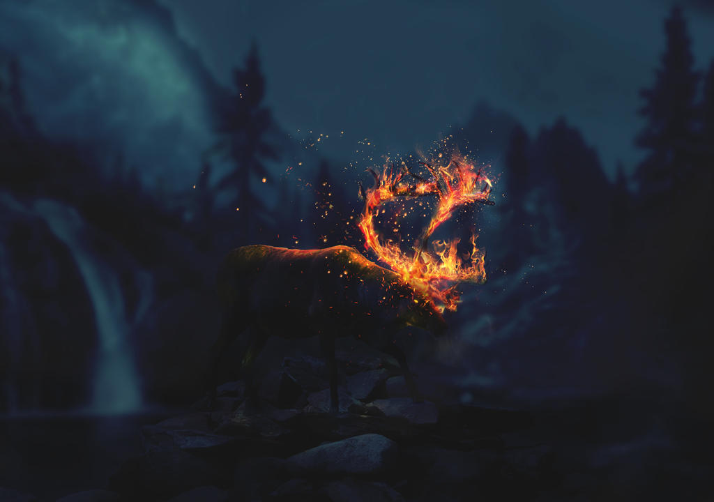 Reindeer Fire by mostpato